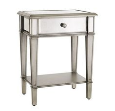 Retails for $399 This LAL is from Pier 1 Imports Hayworth Nightstand - Silver Retails for $249