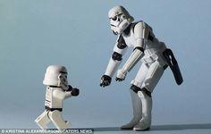 stormtrooper's family album on buzzfeed. instant love.
