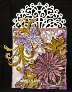Heartfelt Creations | Delicate Asters Tag