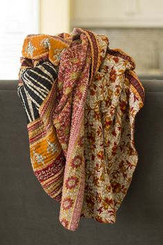 Kantha Blanket from Dignify