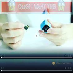 Tech Gadgets, Cool Gadgets, Mini Camera, Camera Gear, Hd 1080p, Night Vision, 50th, Instagram, High Tech Gadgets