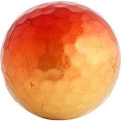 Red & Gold Ceramic Sphere    Clearance $2.98 Orig. $6  While you cannot play ceramic baseball with it, you can display our ceramic ball in a bowl or on a tray for a little hit of color. See what we did there? Baseball? Hit? Got a million of 'em. A Pier 1 exclusive.