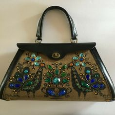 Ganz MaggiB Evening Bag in Red Black or Blue CHOICE