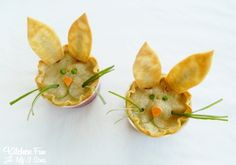Kitchen Fun With My 3 Sons: Easter Bunny Chicken Pot Pie