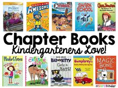 Chapter books your kindergarteners will love!  #SimplyKinder