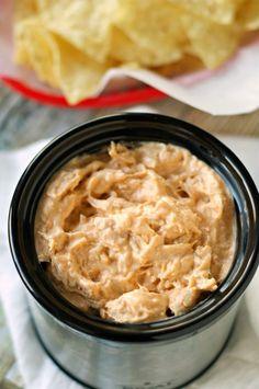 Crockpot Honey Sriracha Chicken Dip | Crockpot Gourmet