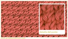 Knitting Stitch Patterns, or combinations of knitting stitches, are a wonderful way to expand your knitting skills. See Knitting Terms an. Baby Knitting Patterns, Knitting Terms, Knitting Stitches, Knitting Projects, Stitch Patterns, Crochet Baby, Knit Crochet, Weaving, Cross Stitch