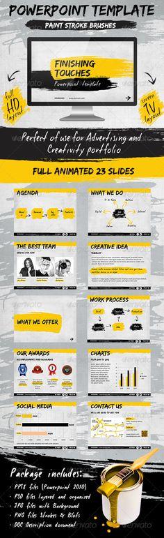 Presentation Templates - Finishing Touches Template | GraphicRiver, color pattern, design, presentation,