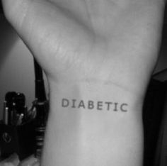Diabetes ✫ Tattoo