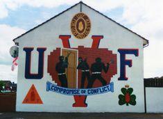 UVF Mural ... Lower Shankill Road Belfast Belfast, Northern Ireland, Wall Murals, The Past, Red, Wallpaper Murals, Murals, Northern Ireland County, Wall Prints