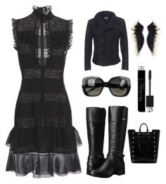 """""""LBD"""" by im-karla-with-a-k ❤ liked on Polyvore featuring Alexander McQueen, TIGHA, Bandolino, Bottega Veneta, Christian Dior and Mulberry"""
