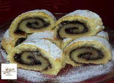 Ezt a finomságot bármivel meg lehet tölteni, nálunk a kakaós a családi kedvenc! Hungarian Recipes, Biscotti, Doughnut, French Toast, Muffin, Cookies, Breakfast, Food, Cookie Monster
