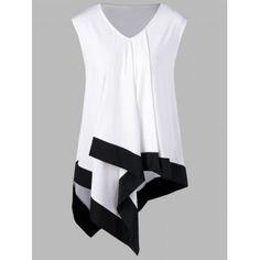 GET $50 NOW   Join Dresslily: Get YOUR $50 NOW!http://m.dresslily.com/plus-size-sleeveless-asymmetrical-longline-t-shirt-product2002500.html?seid=IjG5GEjGQIQAQdE5Qh09Q5d190