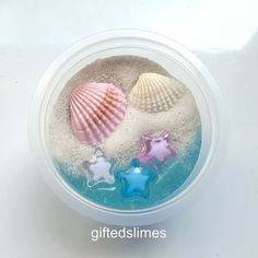 A beautiful sandy beach slime