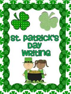 FREE! These 3 St. Patrick's Day writing prompts are great for your writing center. Your kids will have fun finishing the sentences.