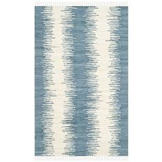 Shop for Safavieh Hand-woven Montauk Blue Cotton Rug (2'6 x 4'). Free Shipping on orders over $45 at Overstock.com - Your Online Home Decor…