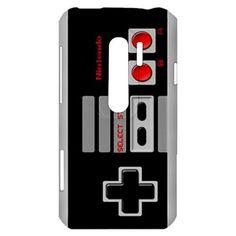 New Retro NES Controller HTC Evo 3D Hardshell Case Cover HTC Evo 3D Case Classic Video Game Controller