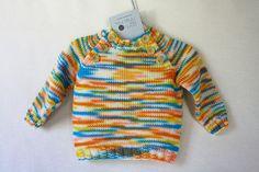 CAMISOLA B.002     KNITTED SWEATER B.001 by ponto de malha { bebé e criança }, via Flickr Men Sweater, Sweaters, Stuff To Buy, Fashion, Knit Stitches, Nightgown, Tricot, Moda, Sweater