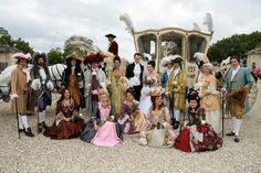 Photo de groupe historique aux Invalides