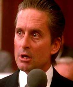 Gordon Gekko in Wall Street