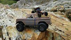 Traxxas Trx4 Chevy ** Spider-Man 🕷 Jeep FC ** Cross Rc Hc4 ** Rc4wd FJ C...