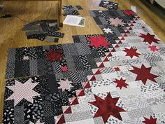 """This quilt is called, """"Touch of Vegas"""" designed by Debbie Allan."""
