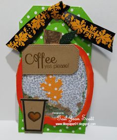 i like paper pumpkin shaker tag - Shaker Cafe Ideas