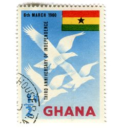 In case you actually want to send postcards and letters back home from Ghana - sometimes it beats getting an email or text!