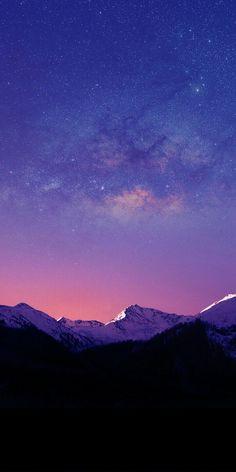 56 ideas wallpaper iphone galaxy stars night skies for 2019 Aesthetic Iphone Wallpaper, Nature Wallpaper, Galaxy Wallpaper, Cool Wallpaper, Mobile Wallpaper, Wallpaper Backgrounds, Aesthetic Wallpapers, Purple Wallpaper, Beautiful Sky