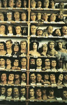vintagenatgeographic: Heads of State stand neck and neck with other famous and infamous figures from Madame Tussaud's wax exhibition in London National Geographic | October 1979