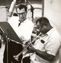 Dave Brubeck & Louis Armstrong