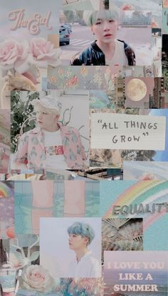 Ideas Aesthetic Wallpaper Bts Yoongi For 2019 Suga Wallpaper, Min Yoongi Wallpaper, Wallpaper 2016, Pastel Wallpaper, Trendy Wallpaper, Tumblr Wallpaper, Iphone Wallpaper, Bts Wallpapers, Bts Backgrounds