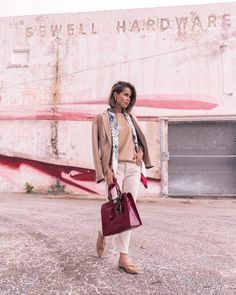 Уличная мода: Модный блогер Stephanie Hill
