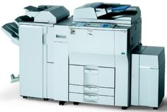 RICOH AFICIO MP 7500 Best Printers, Locker Storage