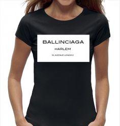 Dames t-shirt - ballinciaga harlem