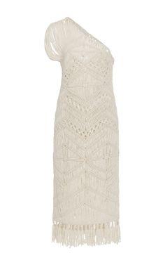 Tuva One Shoulder Midi Dress by TABULA RASA Now Available on Moda Operandi