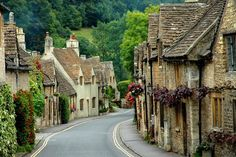Cotswolds, the countryside in England. A must to see and experience.