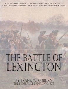 The Battle of Lexington by Frank W. Coburn