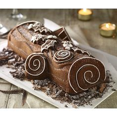 Yule Log Cake Tin - From Lakeland