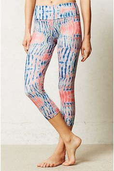 Keep • Floral Burst Crop Leggings