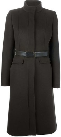 MAX MARA Belted Coat - Lyst