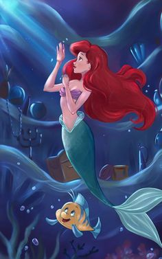 The art of mello dee the little mermaid la sirenita ariel fl Mermaid Wallpaper Iphone, Ariel Wallpaper, Little Mermaid Wallpaper, Mermaid Wallpapers, Cute Disney Wallpaper, Little Mermaid Art, Ariel Mermaid, Mermaid Disney, Disney Little Mermaids