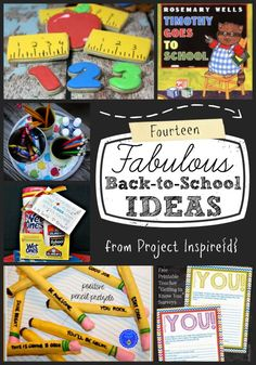 14 Fabulous Back to School Ideas :: Printables, Treats, Teacher Gifts, and More!  Make Back-to-School extra special this year!