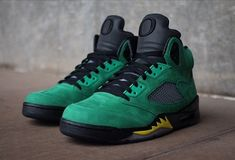 Nike Air Jordan 5 Oregon Ducks
