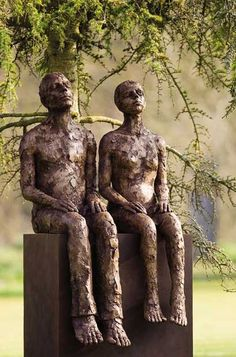 Couple by Carol Peace - 12 of the best sculptures in pictures