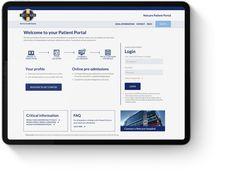 Home Patient Portal, Living Room Tv, Health Care, Wall, Walls, Health