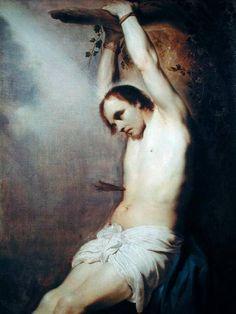 Paulus Bor (1601-1669), San Sebastiano (olio su tela), ubicazione sconosciuta, collezione privata (96 x 127 cm)