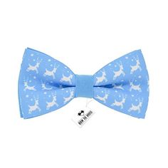 New Christmas bow tie blue deer pattern for adult and chi... https://www.amazon.com/dp/B01M704SZ1/ref=cm_sw_r_pi_dp_x_JaCKybQ09ER4C