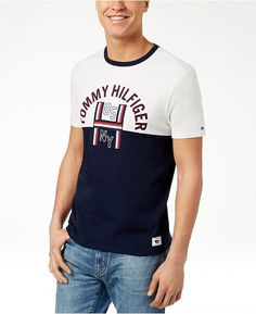 4b2f740229 Tommy Hilfiger Men s Harley Graphic-Print T-Shirt