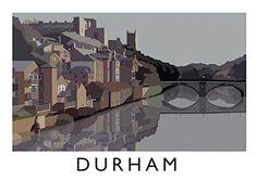 Durham Art Print (A3) Chequered Chicken http://www.amazon.co.uk/dp/B00P2U6JDA/ref=cm_sw_r_pi_dp_cW-uub10M6804